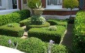 Стиль барокко в оформлении сада