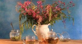 «Копорский» чай — лечебный напиток домашнего приготовления