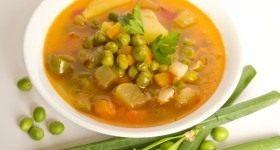 Суп с зелёным горошком - Продукты и рецепты