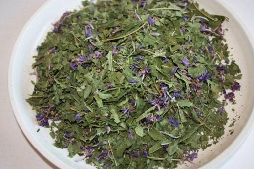 Сушеные листья Кипрея, Иван-чая