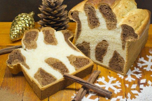 Леопардовый бриошь — сладкий хлеб на Рождество