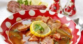 Мясная сборная солянка - Продукты и рецепты