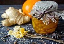 Засахаренный имбирь — цукаты из имбиря с апельсином