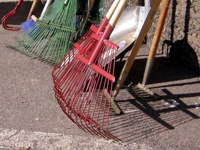 В апрельские дни когда работа в саду невозможна проведите инвентаризацию садового инструмента