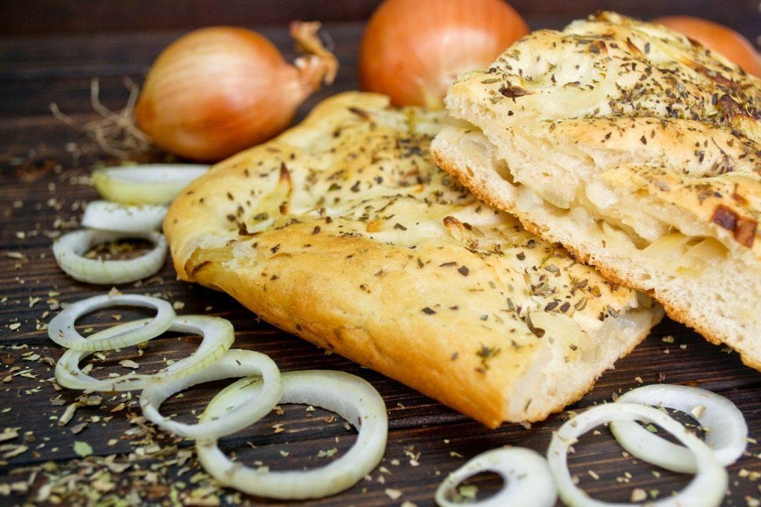 Итальянская лепешка фокачча рецепт пошагово в