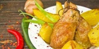 Куриные котлеты с имбирём и чили — жаркое в восточном стиле