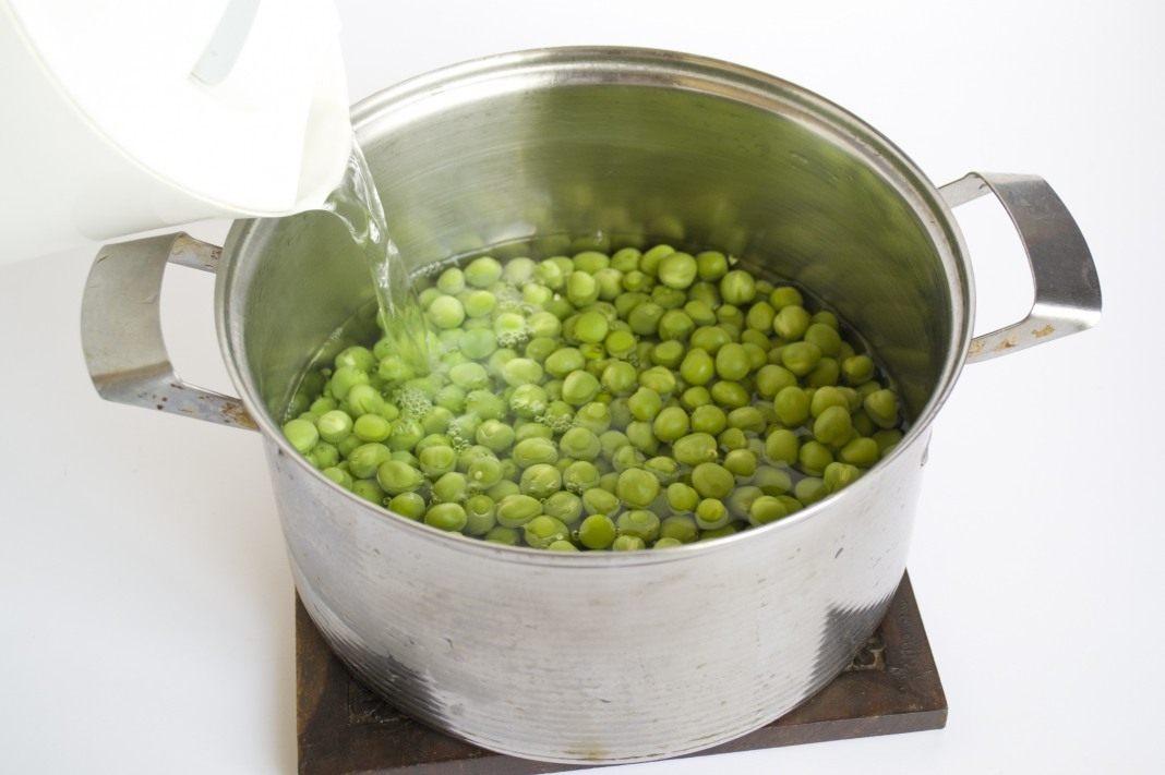 Консервирования зеленого горошка в домашних условиях