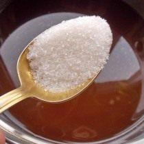 Добавляем в закваску сахар