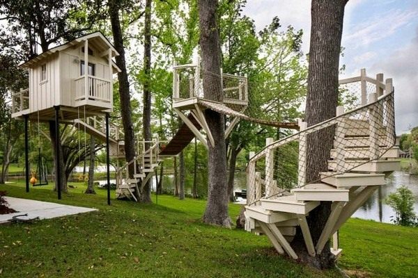 Large-tree-house-garden-build-yourself