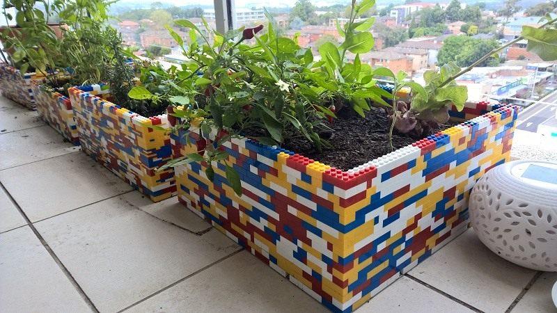 Lego-Planter