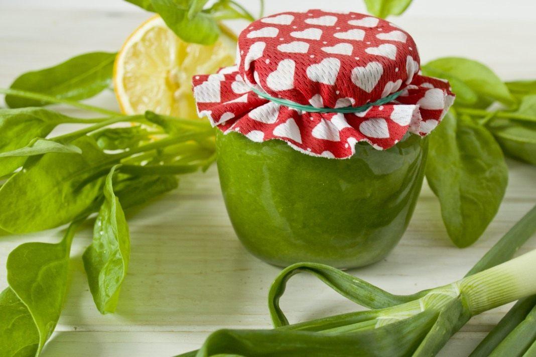 Рецепт зеленого лука на зиму