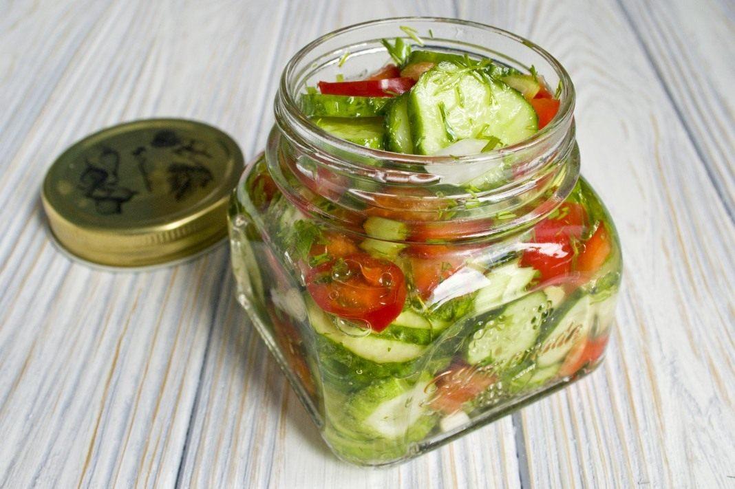 Салат с болгарским перцем простой рецепт - 47