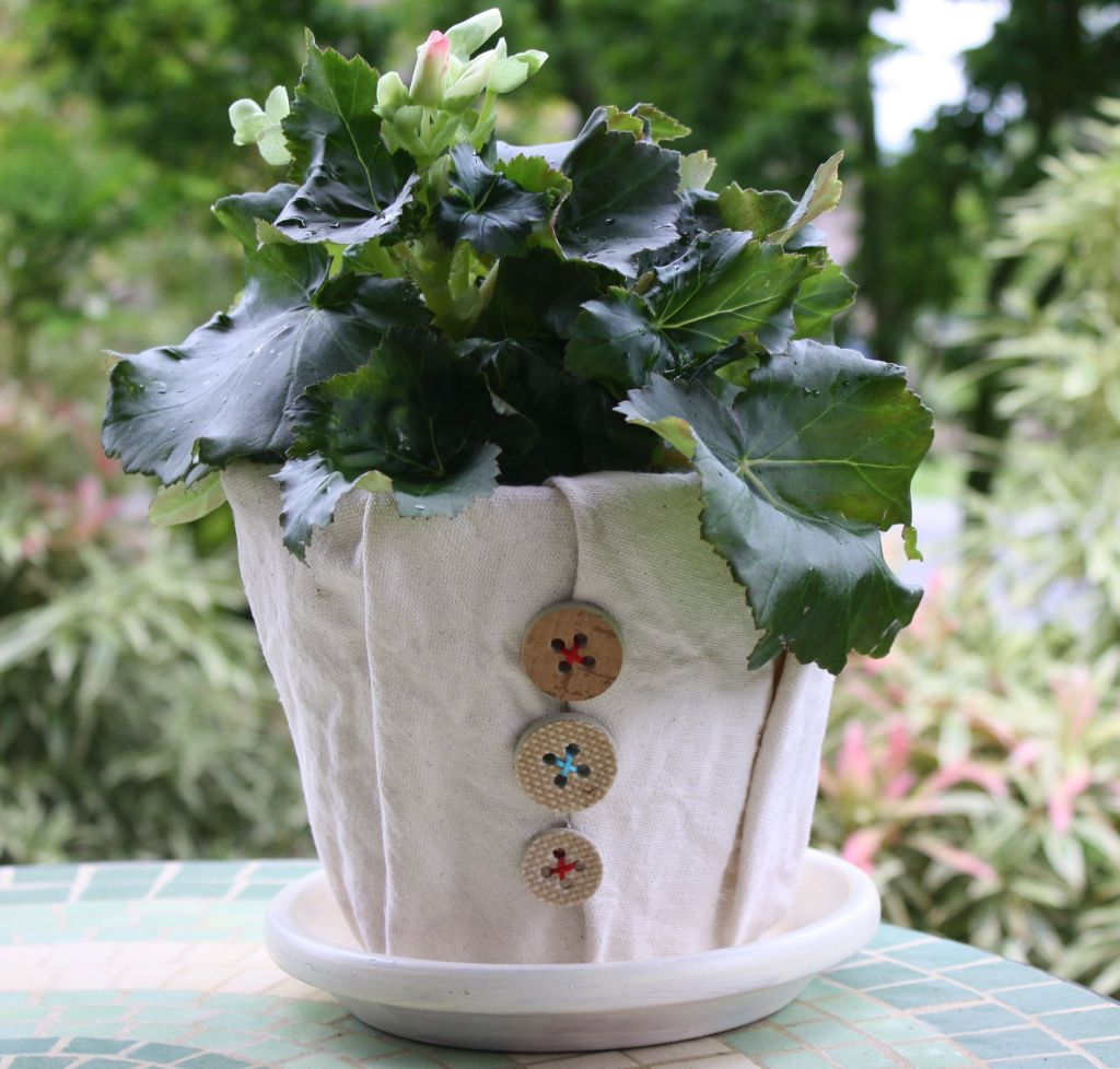 Горшки для цветов красивые своими руками фото 312