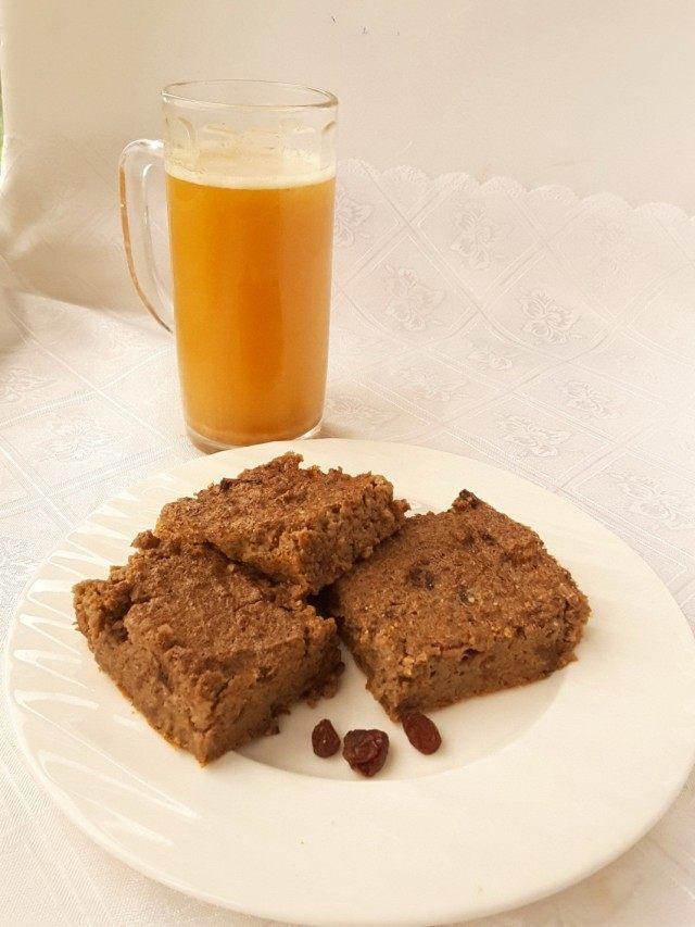 Домашний хлебный квас и хлебный пудинг
