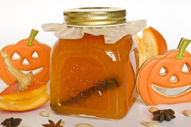 Джем из тыквы с апельсинами