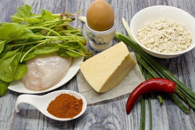 Ингредиенты для приготовления котлет