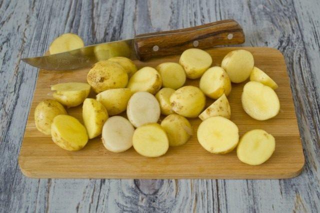 Подготовим молодой картофель