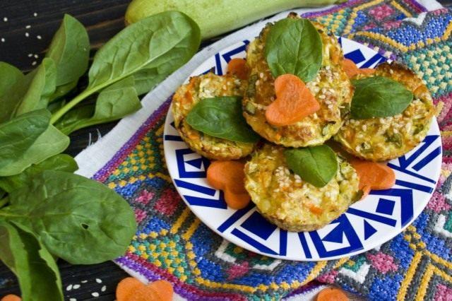 рецепты из кабачков в духовке с колбасой