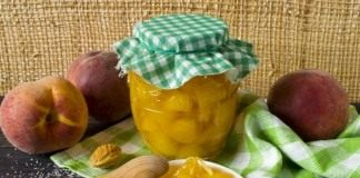 Персики консервированные в имбирном сиропе
