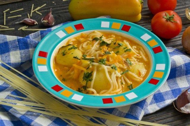 Суп чорба с яблочным квасом