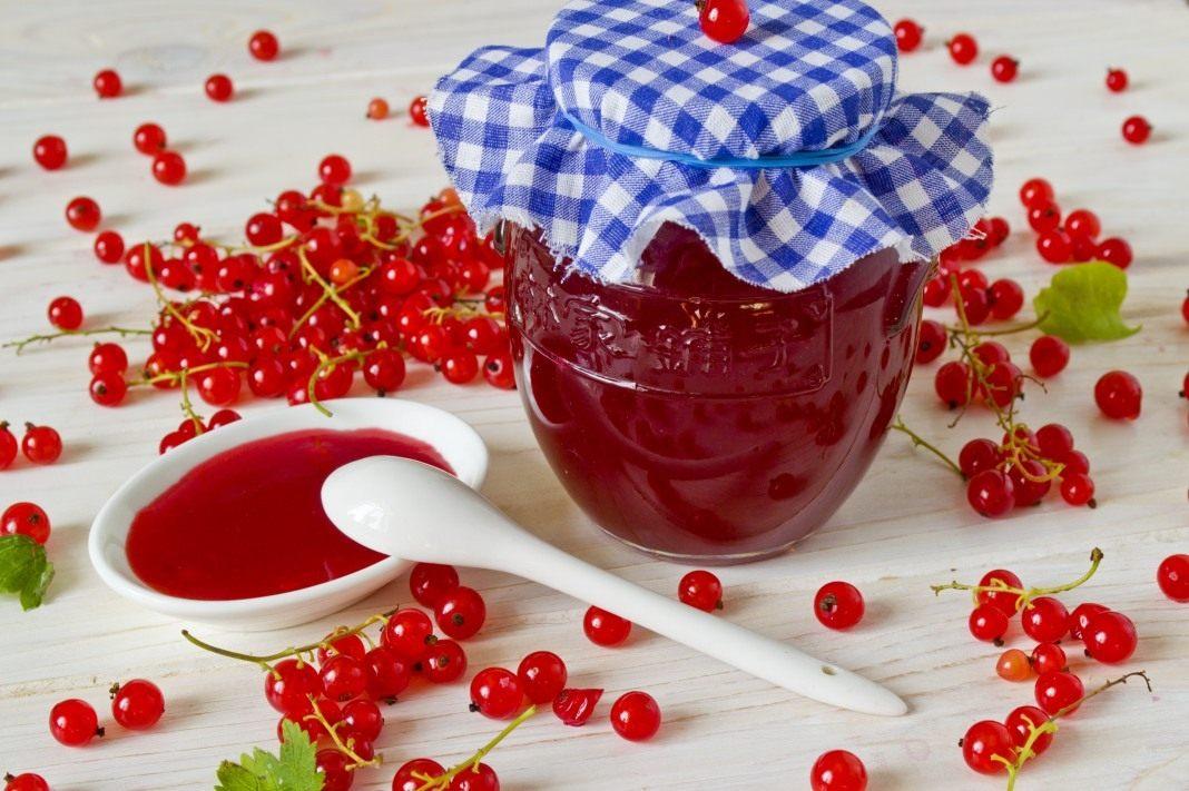 Желе из красной смородины, пошаговый рецепт с фото