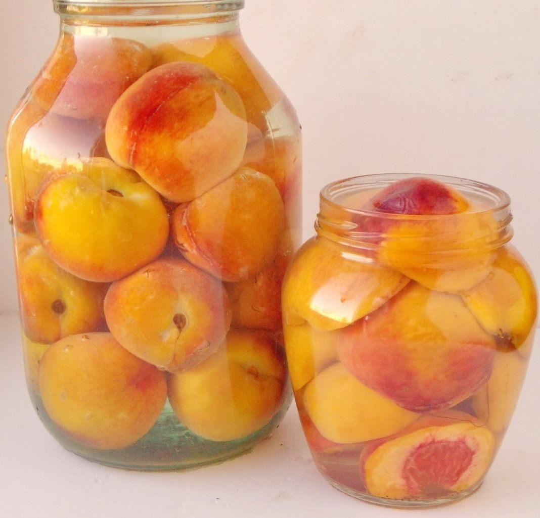 Персики в сиропе на зиму: рецепт с фото 32