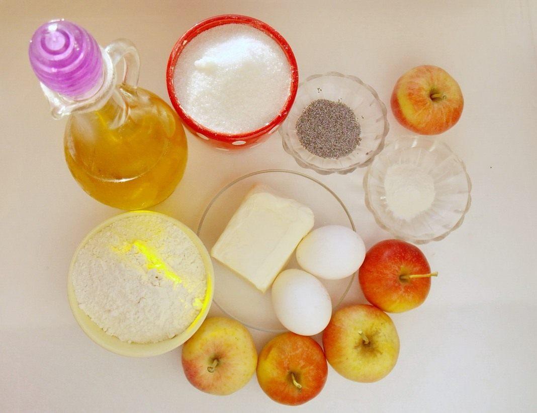 яблочный пирог пошаговый рецепт с фото