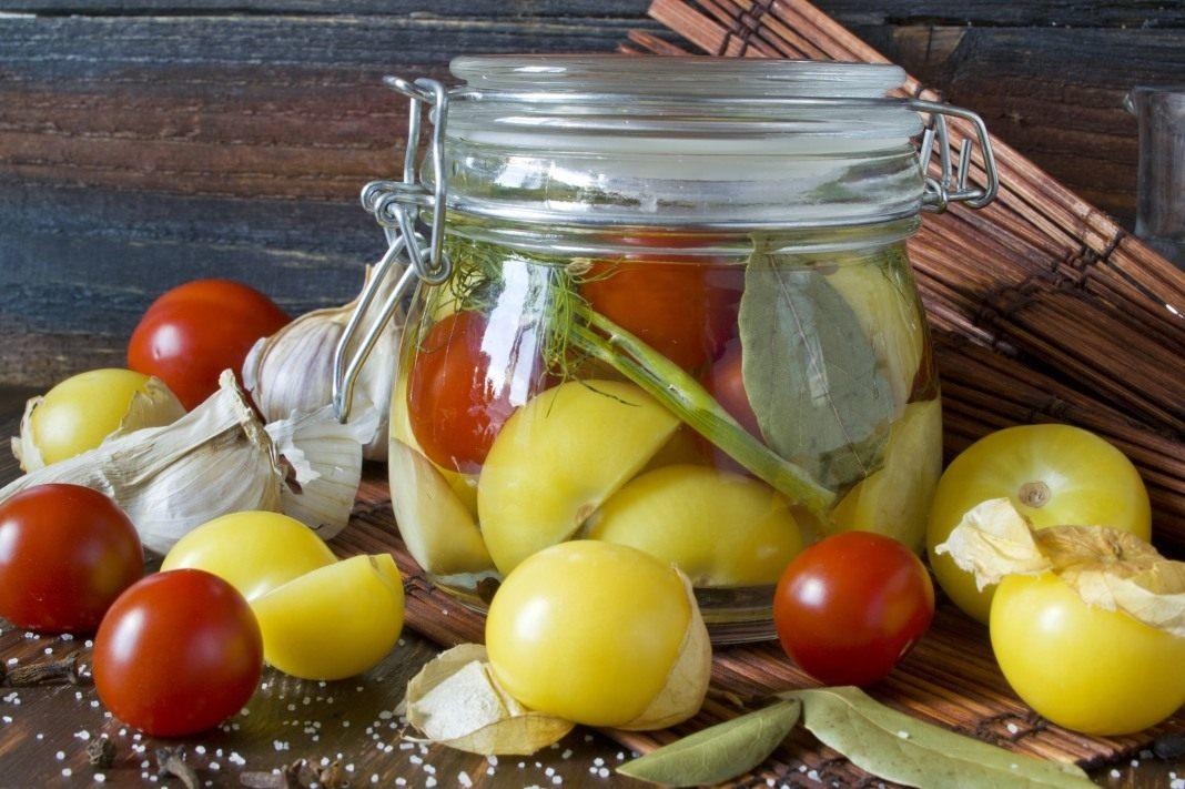 Физалис овощной рецепты приготовления с фото