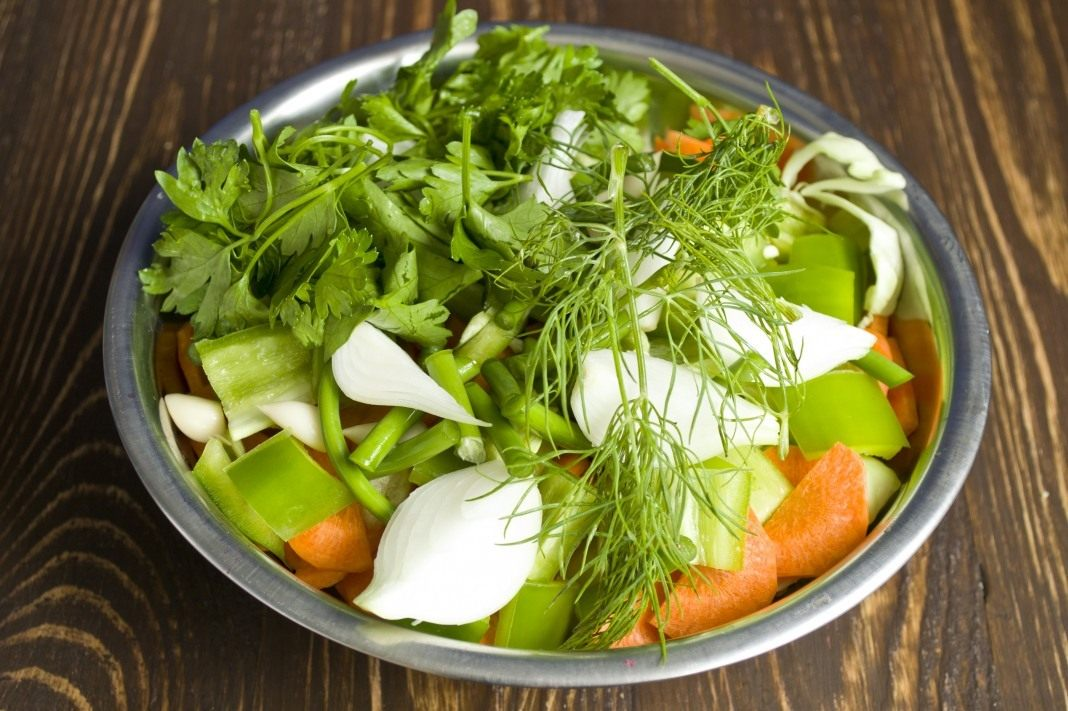 Салат из стрелок чеснока рецепт