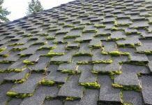 Как избавиться от мха на крыше?