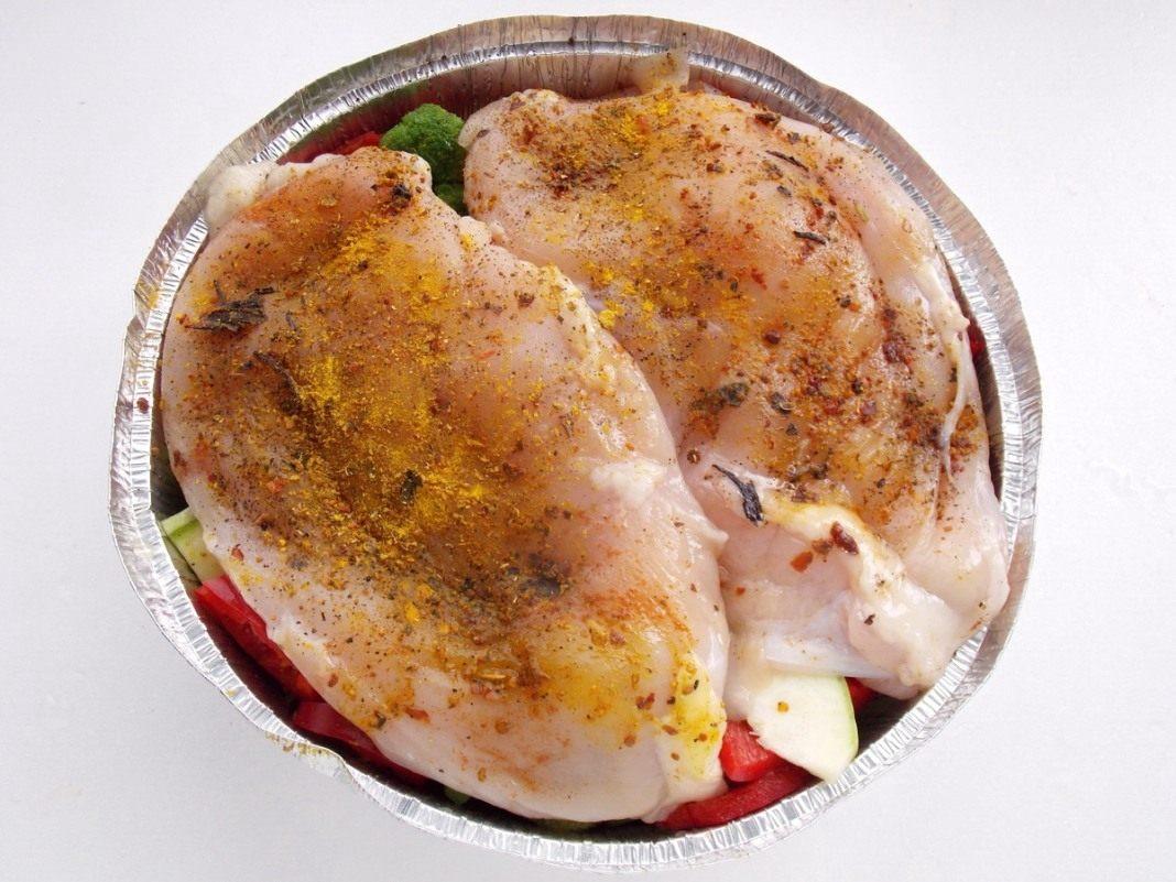 Грудка куриная запеченная в мультиварке рецепт с фото