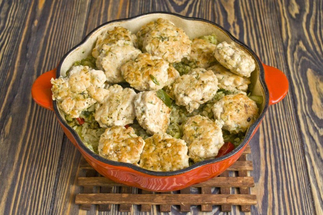 Тефтели куриные с подливкой без риса рецепт