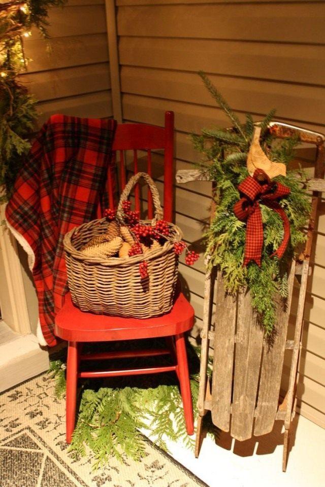 Самое главное в зимнем декоре - штрихи