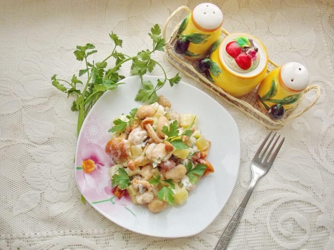 Рецепт салата с опятами маринованными 142