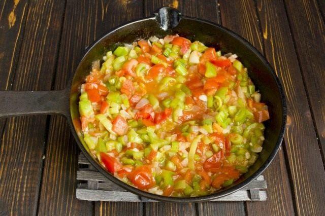 Готовим овощной соус для пасты 30 минут