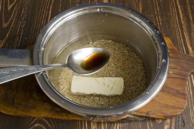Отвариваем бурый рис