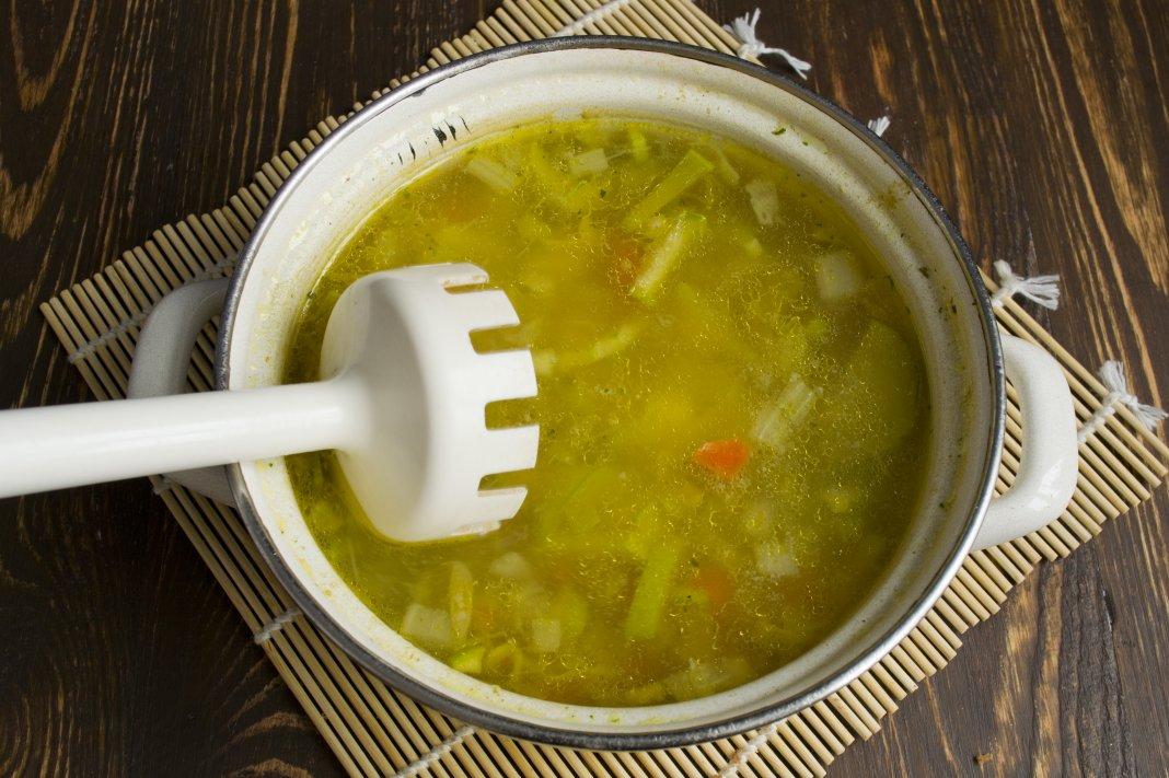 Суп из консервированной фасоли пошаговый рецепт