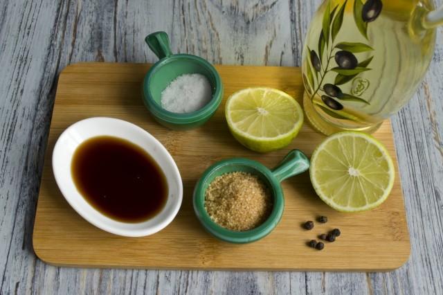 Готовим соус-заправку для салата из чёрной редьки