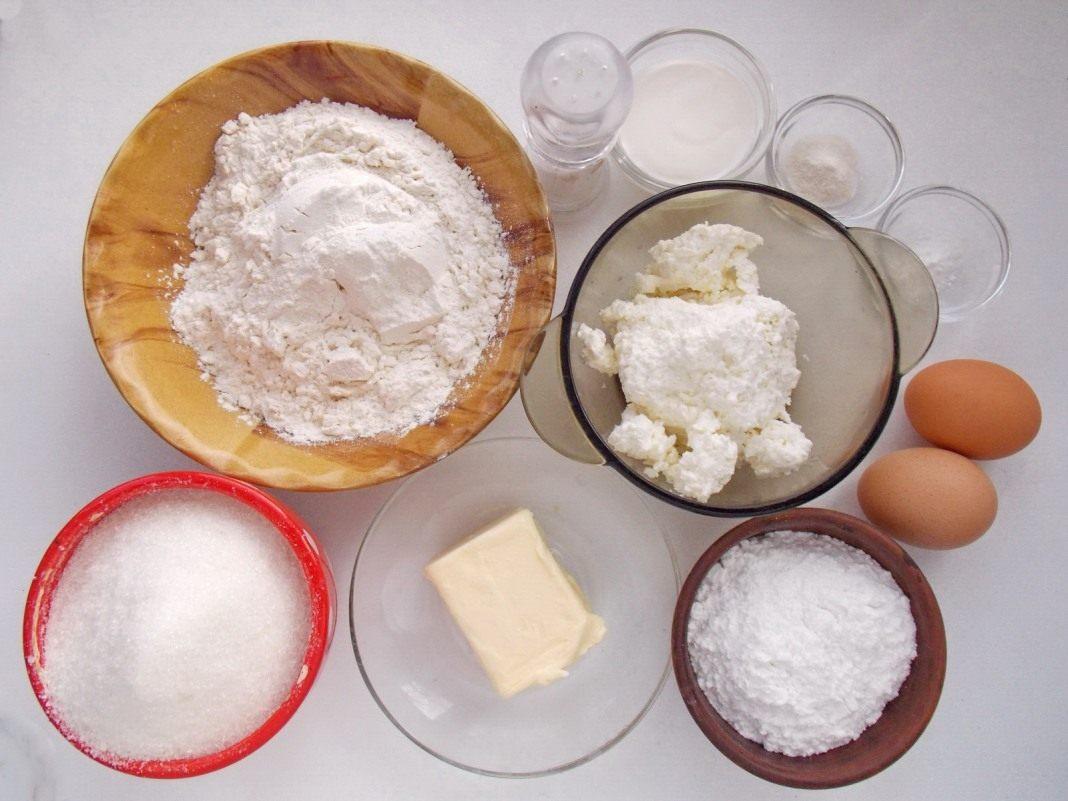 Легкиеы торта из творога