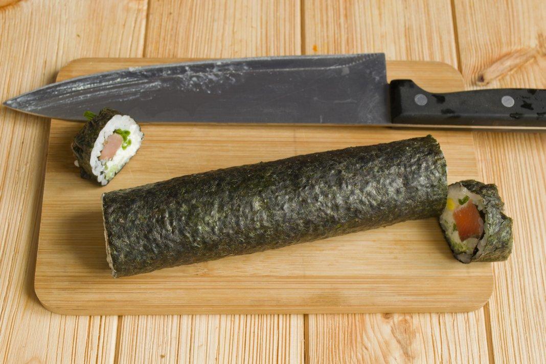 рецепт роллы лосось