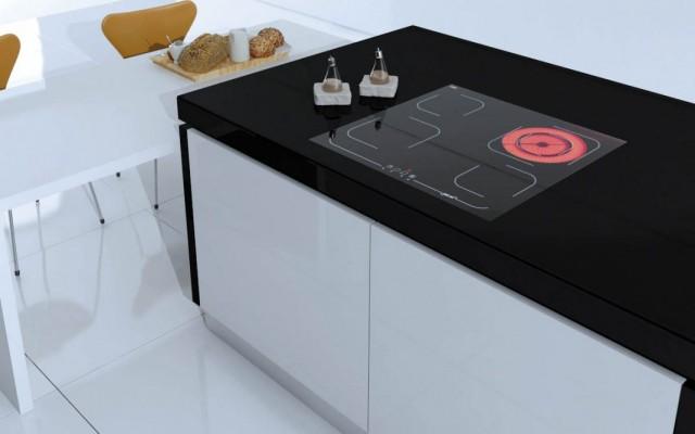 Стеклокерамическая варочная панель для кухни
