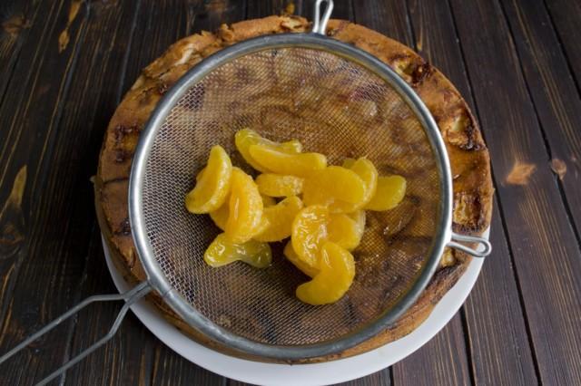Готовим мандариновый сироп для пропитки коржа