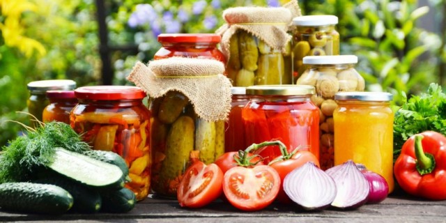 Урожай овощей со своего огорода и их заготовка