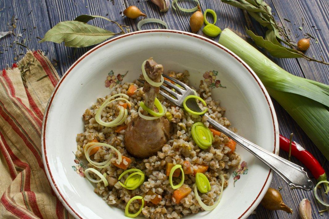 Балканское блюдо из курицы