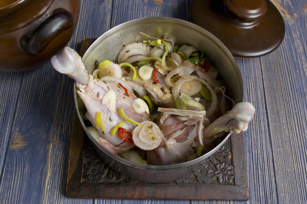 Рецепт маринада для мяса