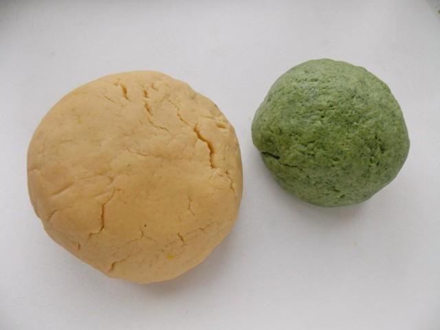 Тесто для печений в виде яблок