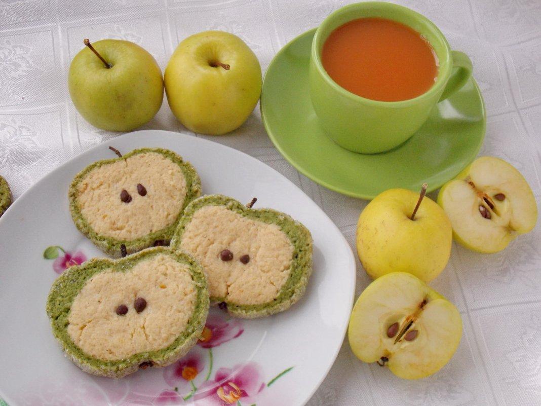 Яблоки для детей рецепты