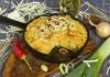 Запеканка из макарон с творогом и капустой в духовке