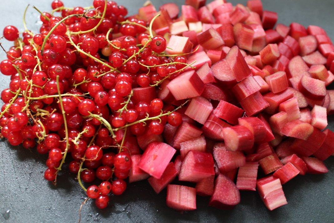 Currant-rhubarb