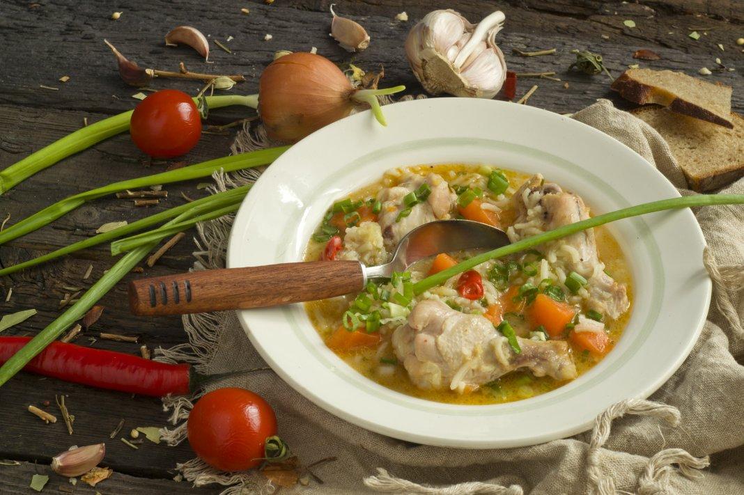 как приготовить суп из куриных крылышек рецепты с фото